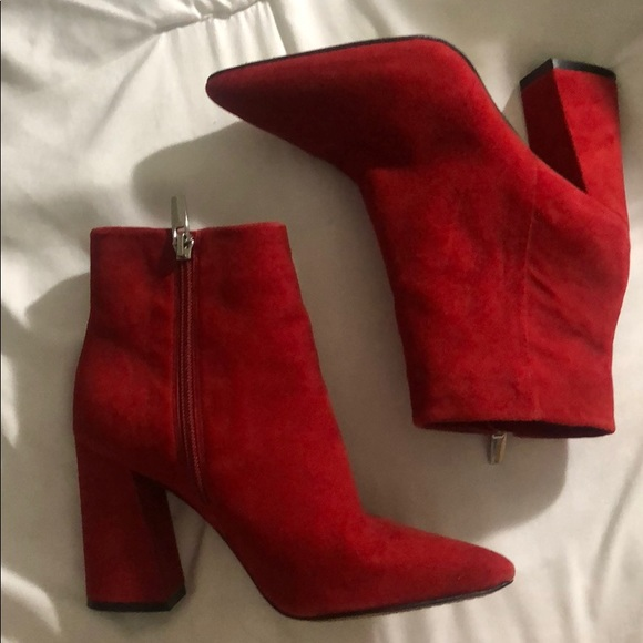Vince Camuto Shoes - Vince camuto RED ankle booties